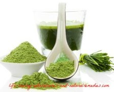 wheat grass arthritis remedy