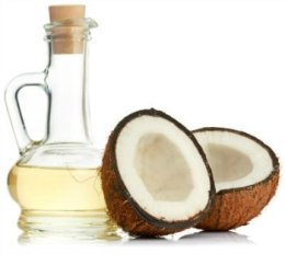 Coconut oil for treating asthma symptoms
