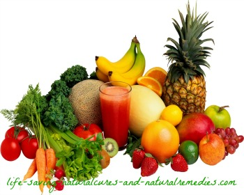Healthy foods that clear up acne and pimples fast