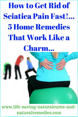5 Quick Relieving Home Remedies For Sciatica Pain