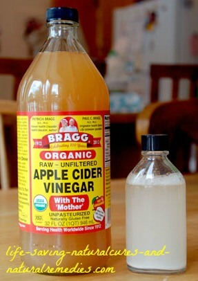 Apple cider vinegar farting relief remedy