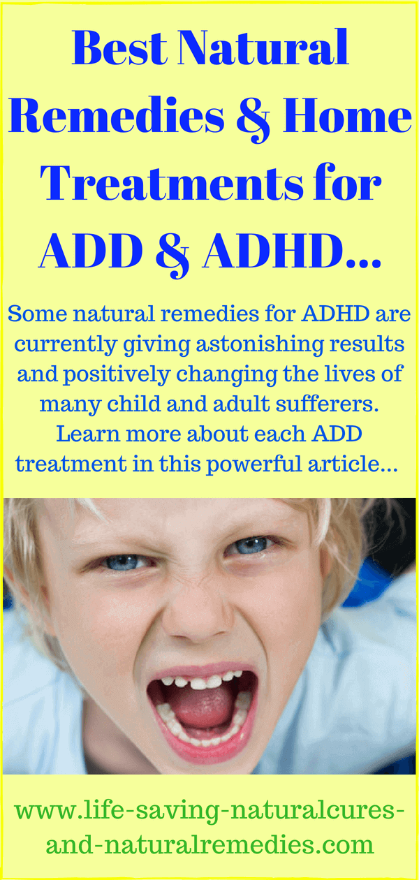 Wow 7 Powerful Amp Proven Home Remedies For Add Amp Adhd