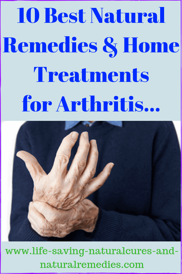Best arthritis inflammation remedies