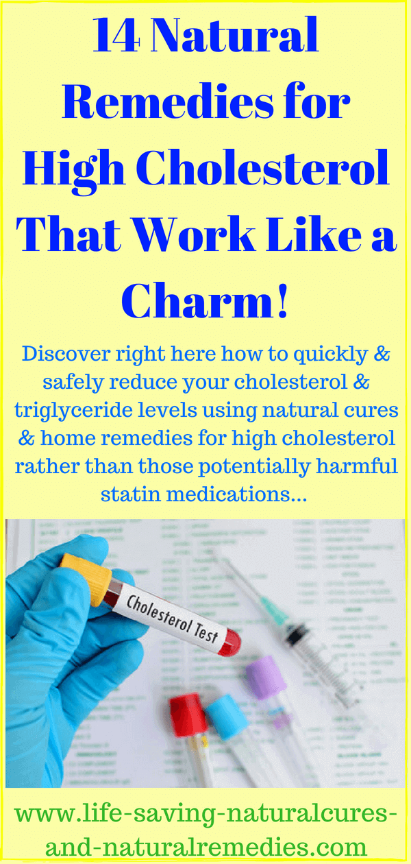 14 Powerful Ways to Lower Your Cholesterol Naturally & Fast!