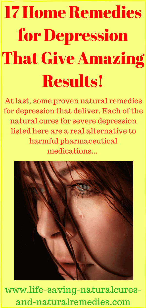natural cures for depression and anger