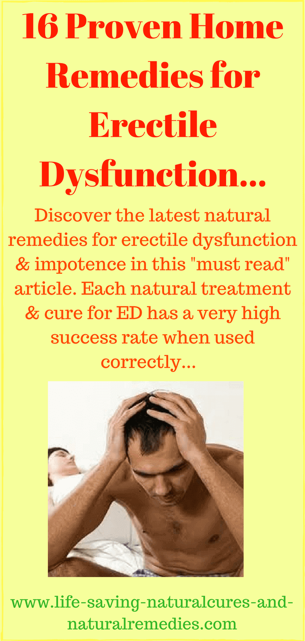 Sexual dysfunction natural treatment