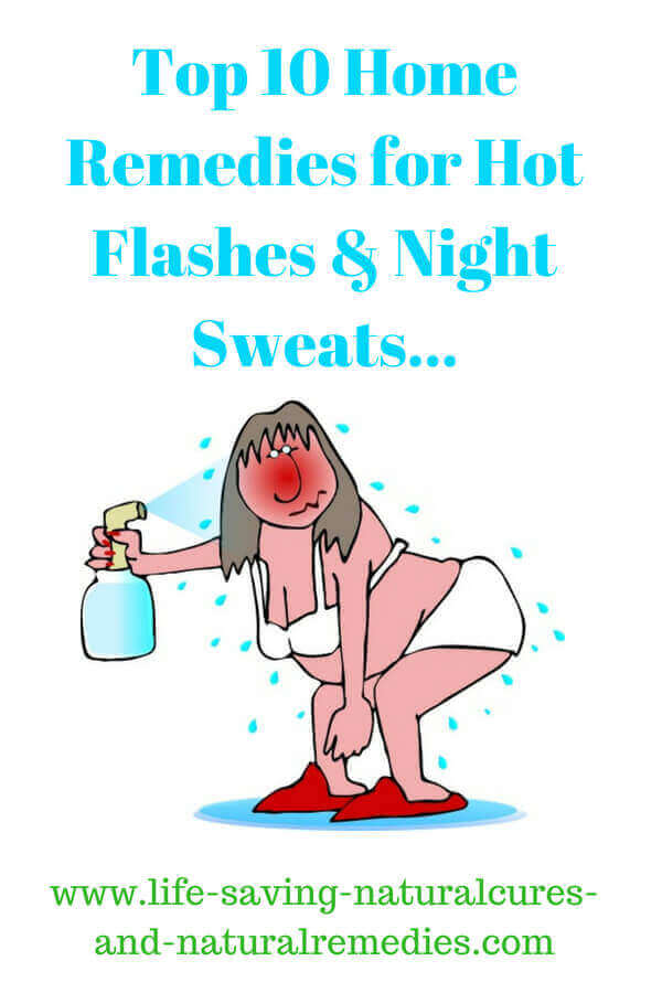 Wow! 10 Stunning Home Remedies for Hot Flashes & Night Sweats