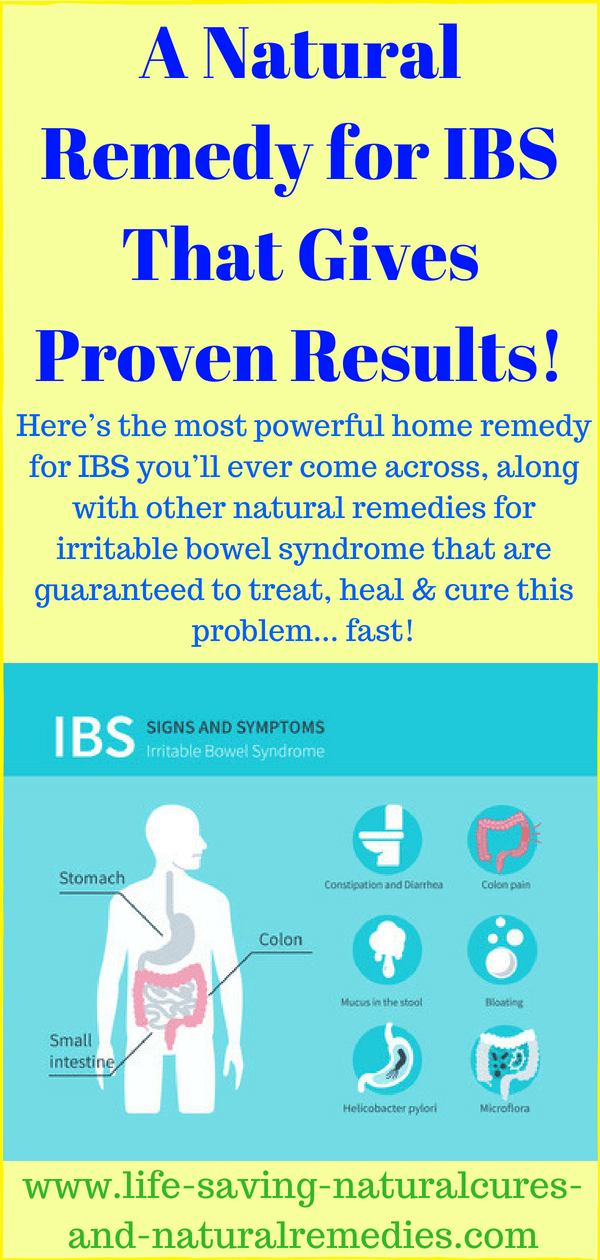 At Last! A Home Remedy for IBS That Gives Proven Results!