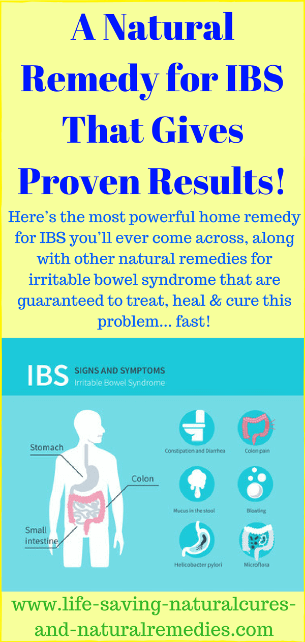 At Last A Home Remedy For Ibs That Gives Proven Results
