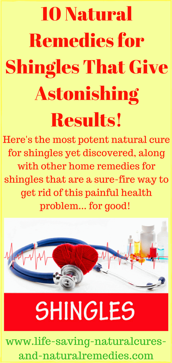 At Last A Natural Cure For Shingles Has Been Discovered