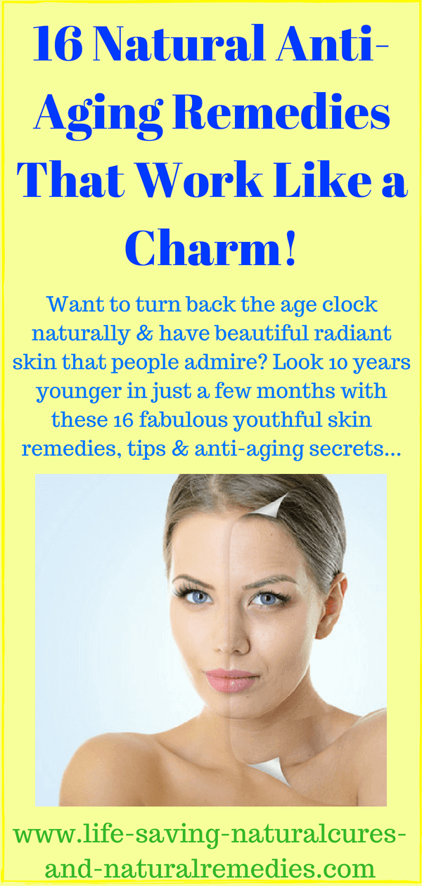 16 Youthful Skin Remedies That Work Like A Charm