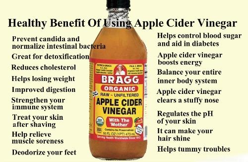 Apple Cider Vinegar Honey Drink Sleep