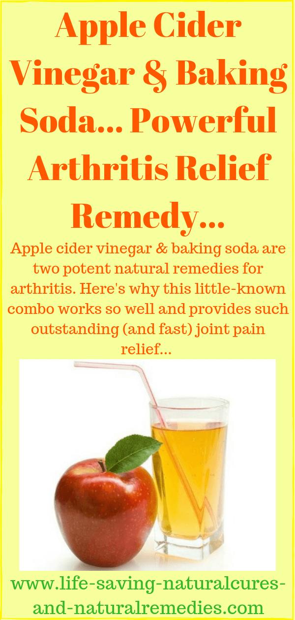 Wow! Apple Cider Vinegar & Baking Soda for Arthritis Relief!
