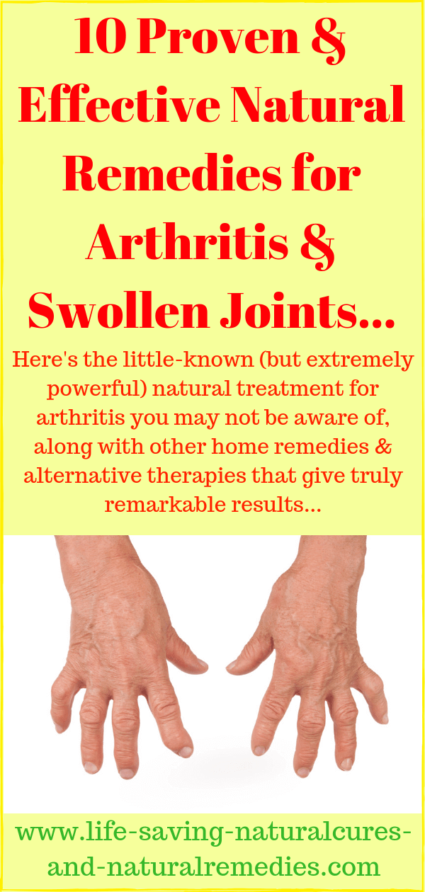 Natural remedies for reversing arthritis