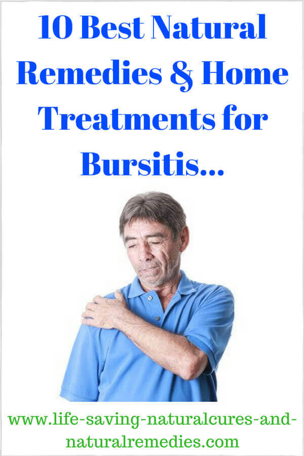 how to get rid of bursitis naturally