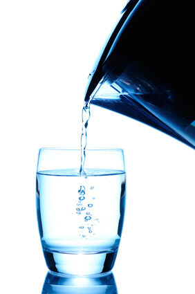 Water remedy for a urinary tract infection