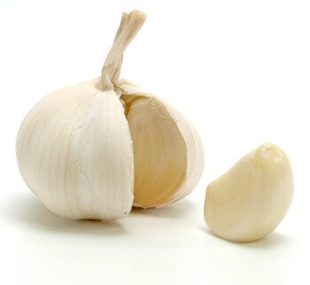 Garlic for treating gas problems