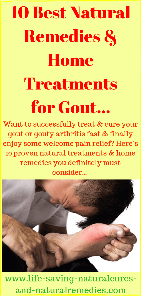 Natural Remedies Home Treatments for Gout