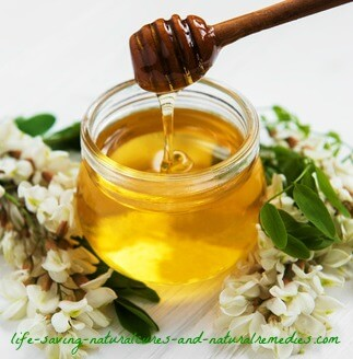 Raw honey for cold and flu relief
