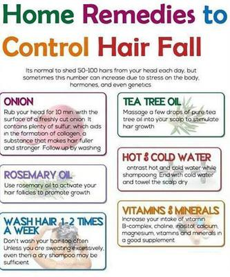 hair gain home remedies
