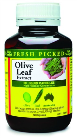 Olive leaf extract sinus headache treatment