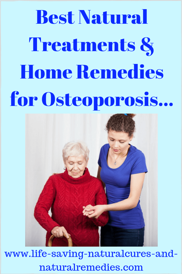 Osteoporosis bone loss natural cure remedies