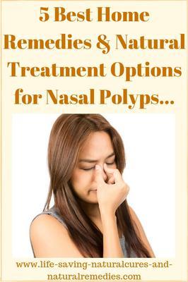 Polyps home remedy nose 20 Effective