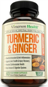 Turmeric ginger bursitis treatment