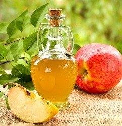 Apple cider vinegar upset stomach remedy