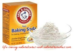 Baking soda gets rid of bone spurs and heal spurs fast
