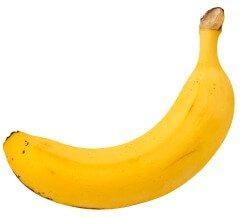Banana stomach ache cure